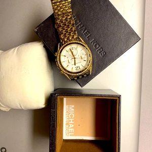 Michael Kors gold wrist watch